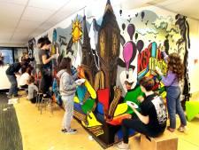 Leerlingen maken kunstwerk van 12 meter lang