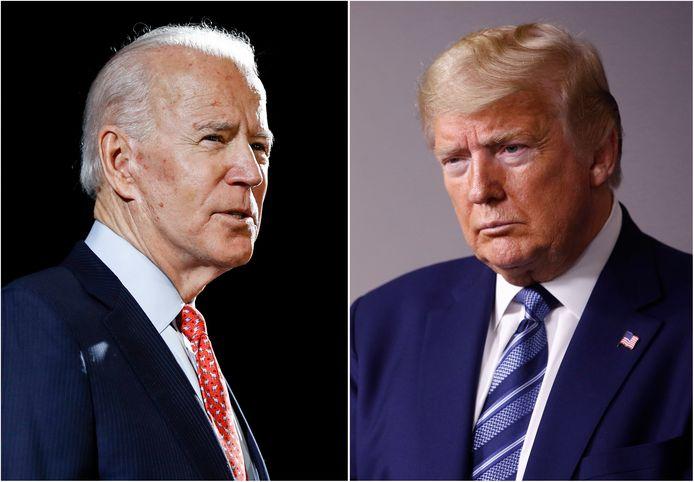 Joe Biden neemt het op 3 november op tegen Donald Trump.