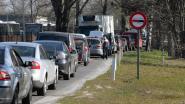 Lange wachtrijen aan Hasselts recyclagepark ondanks live videobeelden