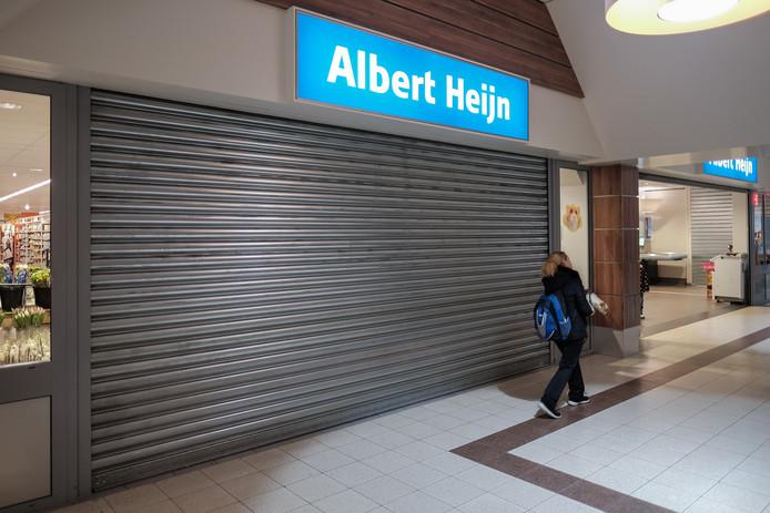 De Albert Heijn in 's-Heerenberg gaat in mei dicht. Archieffoto Jan van den Brink