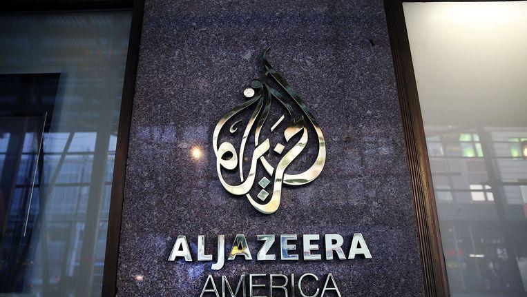 Al-Jazeera America werd in augustus 2013 gelanceerd als een serieuze en onafhankelijke nieuwszender. Beeld anp