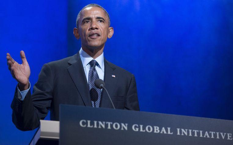Barack Obama. Beeld null