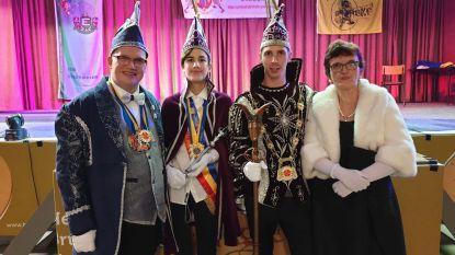 Jeugdprins Quinten (13) en Prins Carnaval Jens gekroond