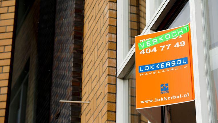 De verkoop van nieuwbouwwoningen is terug op het niveau van voor de crisis Beeld anp