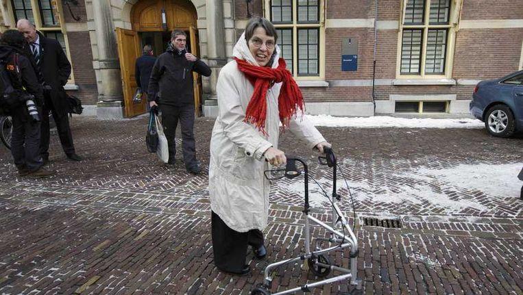 Staatssecretaris Jetta Klijnsma van Sociale Zaken en Werkgelegenheid. Beeld null
