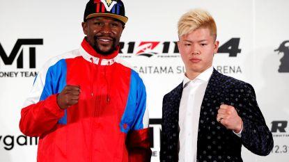 Floyd Mayweather (41) op oudejaarsavond weer de ring in om tegen Japanse kickboks- en MMA-sensatie (20) te vechten