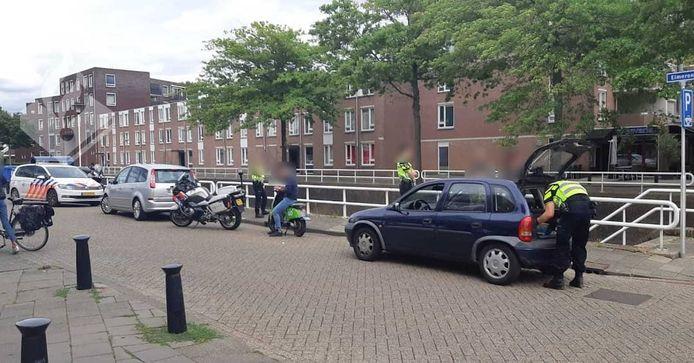 De politie controleerde op verschillende plekken in Den Bosch.