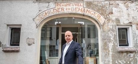 Muurschildering brengt geschiedenis familie Van den Heuvel weer tot leven