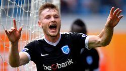 VIDEO: Met deze fraaie kopbal houdt Brabec Gent van eerste zege