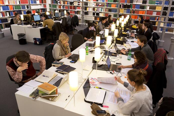 De Universiteitsbibliotheek aan de Drift in Utrecht.