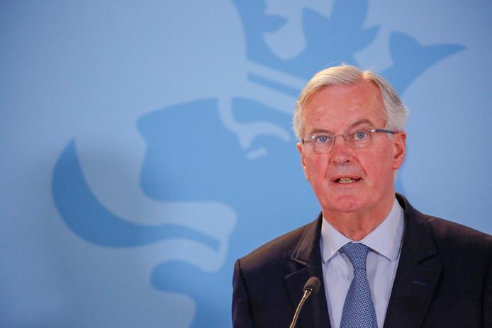 Brexitonderhandelaar Michel Barnier