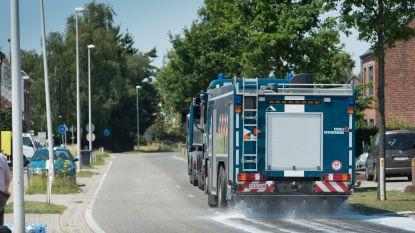 Borstelwagenbestuurder wekt Genkenaar en kijkt dan plots in loop van luchtdrukgeweer