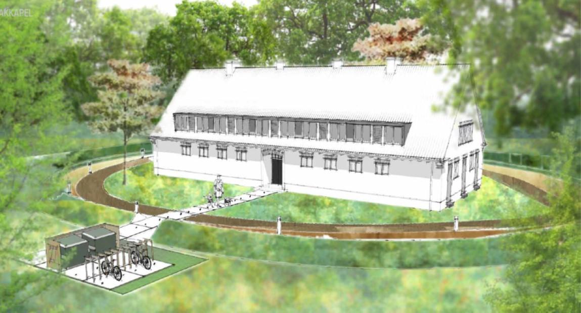 De verbouwing van azc Gilze start begin 2020. De woonpanden krijgen een extra verdieping en worden gemoderniseerd.