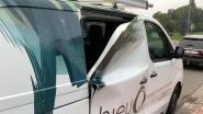 Ongezien: inbrekers plooien zijdeur van bestelwagen open, maar kunnen niks stelen