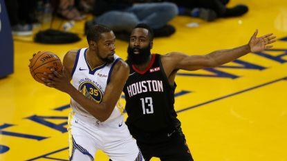 Harden en Antetokounmpo in NBA-ploeg van het seizoen