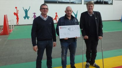T4 Cycling schenkt 1.000 euro aan VIBLO Leieland