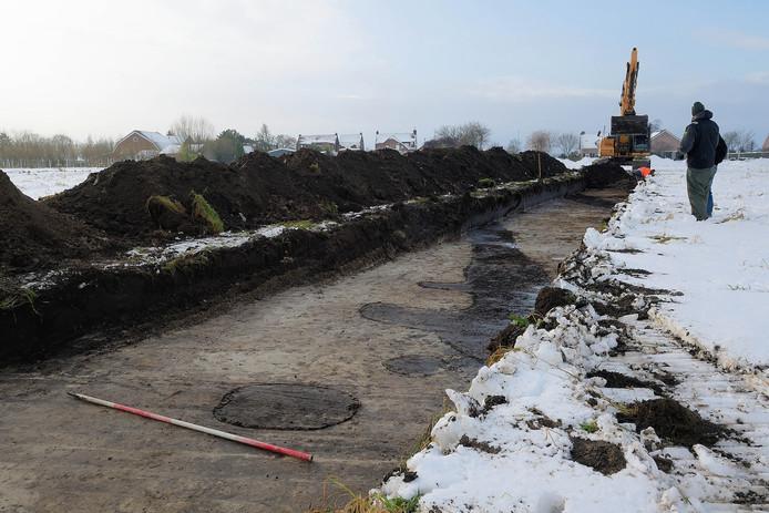 Afgelopen winter werd er archeologisch onderzoek in de buurt van de Bulkstraat verricht. Hier worden vanaf mei tientallen huizen gebouwd.