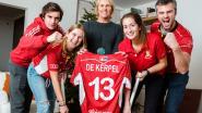 Familie en club in de wolken met wereldkampioen Nicolas De Kerpel