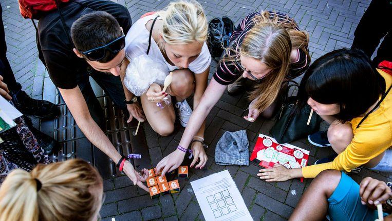Studenten van de Radboud Universiteit Nijmegen. Beeld Aurélie Geurts