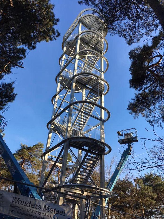 Deze uitkijktoren staat al in de Maashorst. Ook aan de Udens/Landerdse kant komt er nu eentje. Waar die komt en hoe die er uit gaat zien is nog niet bekend.