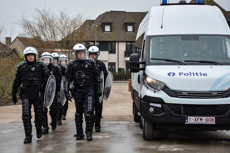 De nieuwe sectiewagen van de politie Damme/Knokke-Heist