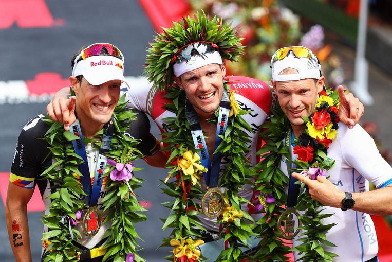 In 2016 stonden met Kienle, Frodeno en Lange drie Duitsers op het podium.