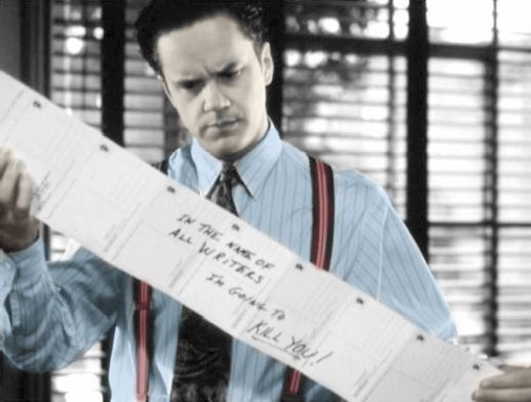 Tim Robbins in The Player. Beeld