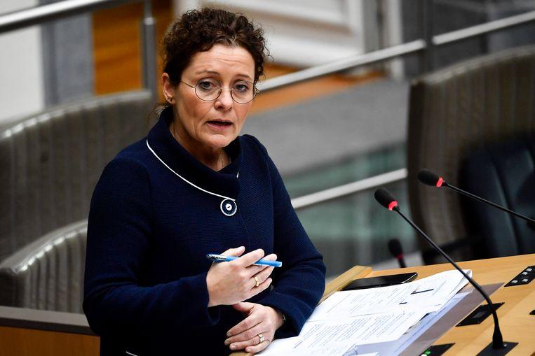 Minister van Energie Lydia Peeters (Open Vld)