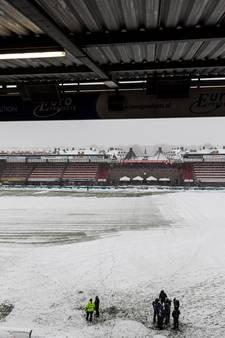 Duel tussen Sparta en Vitesse afgelast vanwege sneeuwval
