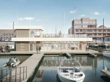 Drijvend clubgebouw gaat toegang tot haven Jachtclub Scheveningen bewaken