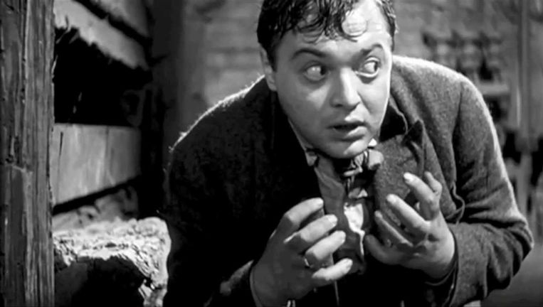 Peter Lorre in M van Fritz Lang. Beeld .