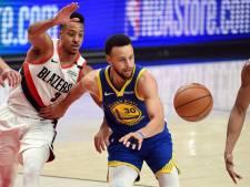 Golden State Warriors onbedreigd naar NBA-finale
