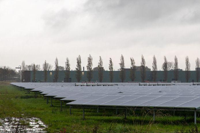 Bij Middelburg ligt al wel een zonnepark.