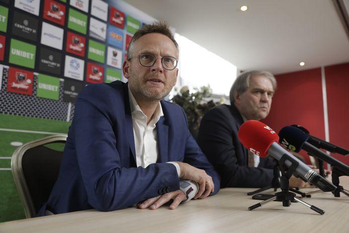 Peter Croonen et Pierre Francois