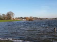 Als een kind zo blij met hoogwater in Wageningen