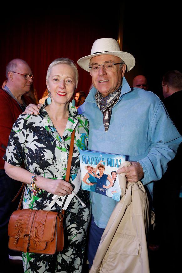 Premiere - Mamma Mia  Herbert Flack met zijn partner Fabienne