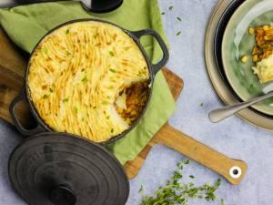 Wat Eten We Vandaag: Shepherd's pie met kastanjechampignons