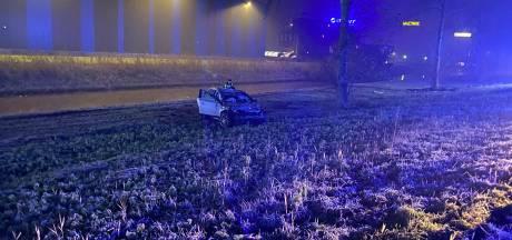 Drie gewonden bij botsing op A6 bij Lelystad, duikers zoeken slachtoffers