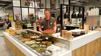Foodmaker opent saladbar in Delhaize Stadsfeestzaal