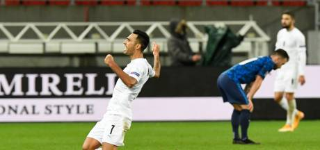 PSV-spits Zahavi schiet Israël met zuivere hattrick naar heroïsche winst in Slowakije