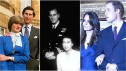 Van prins William tot de Queen zelf: zo maken de Britse royals hun verloving bekend