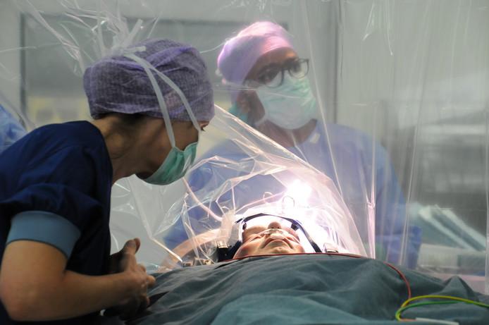 Operatie in  Radboudumc.