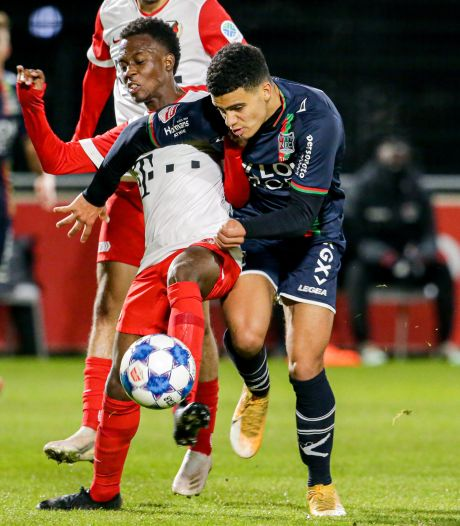 Samenvatting: Jong FC Utrecht - NEC