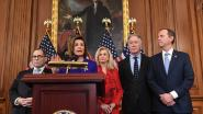 """Democraten kondigen formeel aanklachten tegen Trump aan in afzettingsprocedure: """"Niemand staat boven de wet"""""""