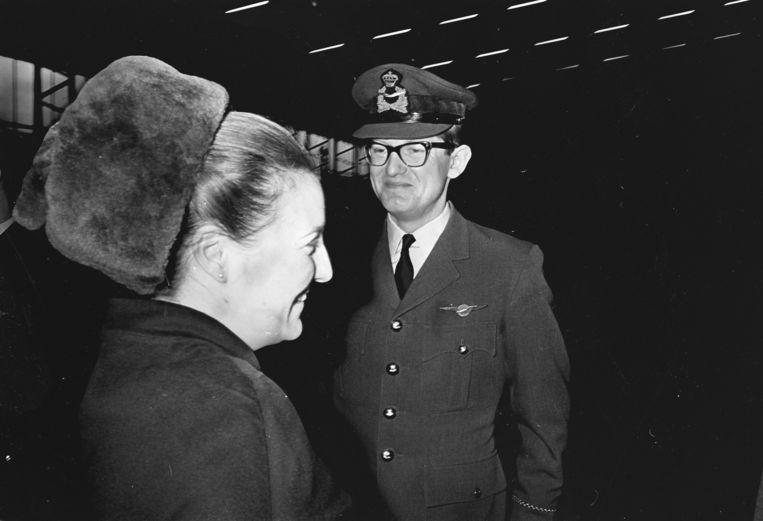 Prinses Margriet en Pieter van Vollenhoven in 1968 Beeld Nationaal Archief/Anefo