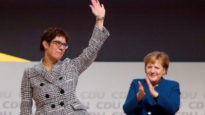 Binnen Merkels partij gaan stemmen op voor snelle kanselierswissel, SPD is tegen