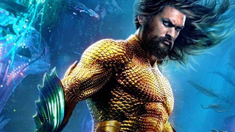 Jason Momoa als 'Aquaman'.