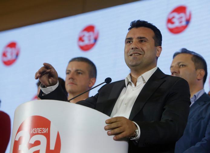 De premier van Macedonië, Zoran Zaev
