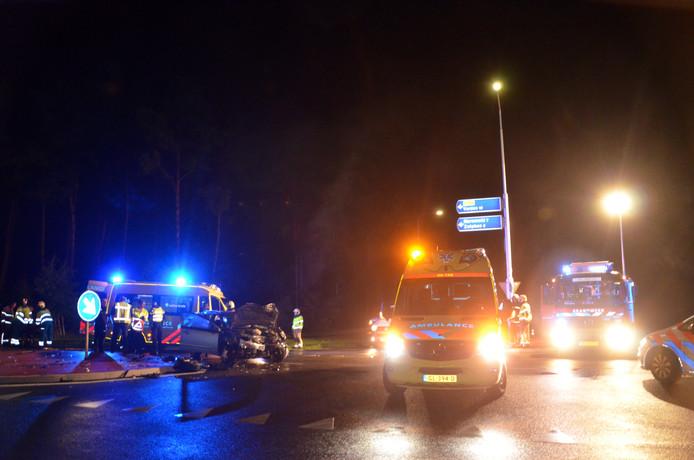 Een ernstig ongeluk in Lochem in 2018.