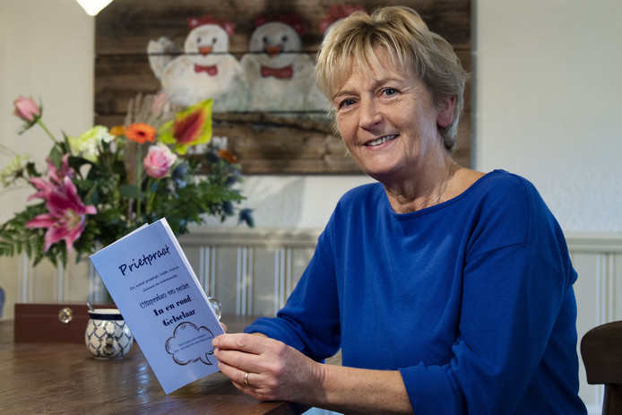 Willy Warmink was tien jaar lang peuterleidster in Gelselaar.In haar boekje 'Prietpraat' bundelde ze de leukste uitspraken van peuters.